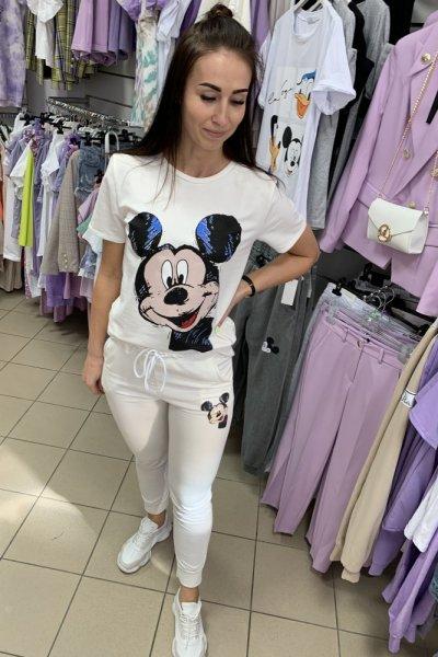 Komplet dres Miki biały