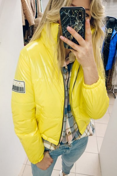KURTkA Bomberka Mari yellow