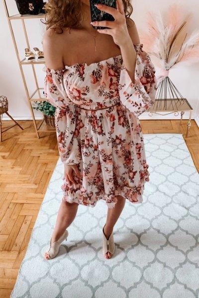 komplet bluzka-spódnica arlena